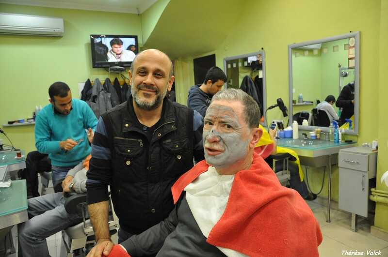 gerard valk chez le barbier à istanbul