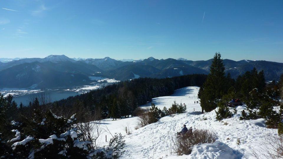 lac tegernsee panorama neureuth