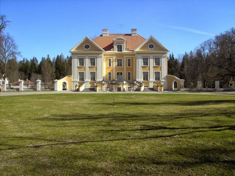 Estonie Parc manoir Palmse parc lahemaa estonie