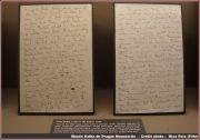manuscrits kafka prague
