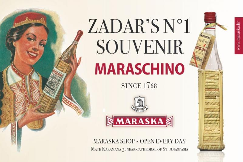 maraschino liqueur maraska croatie