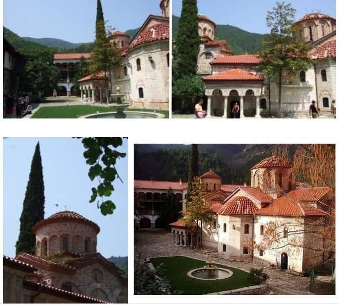 monastère de Batchkovo en Bulgarie