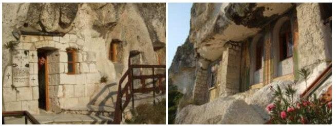 monastère rupestre Basarbovo en Bulgarie