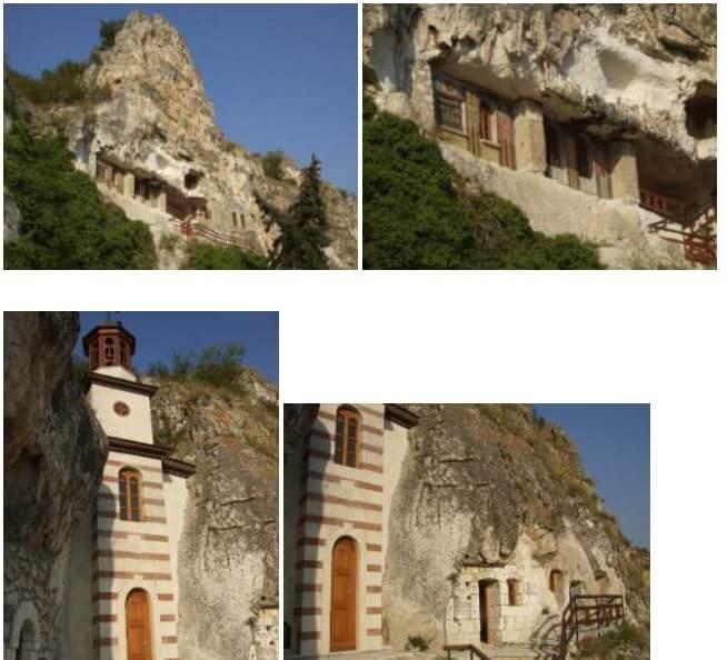 monastère rupestre de Basarbovo