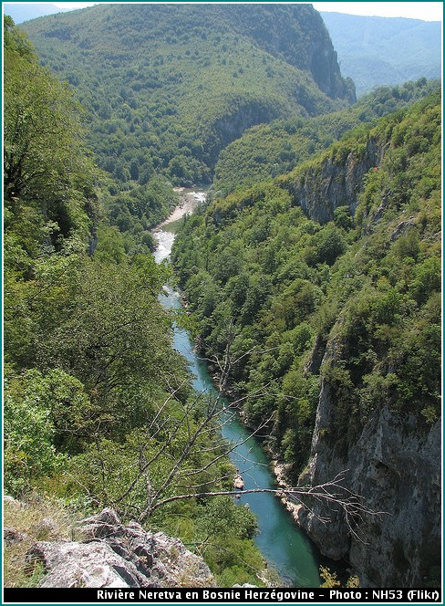 neretva riviere bosnie