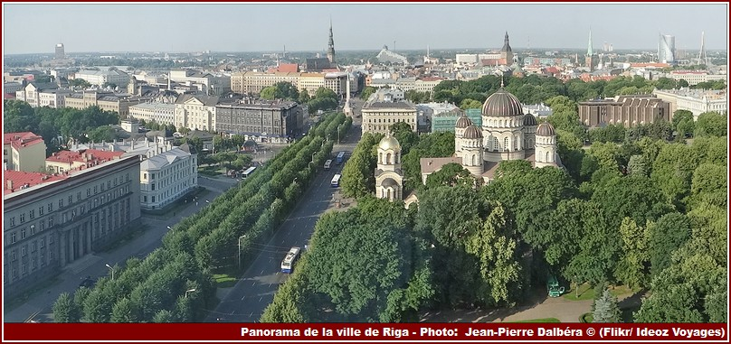 Panorama Ville De Riga