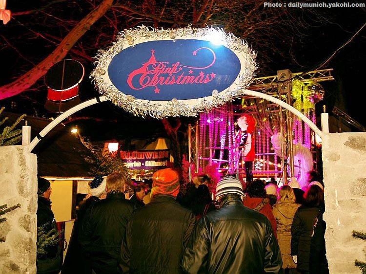 Pink Christmas Munich Märkte: Marché de Noel de Munich gay et lesbien 23