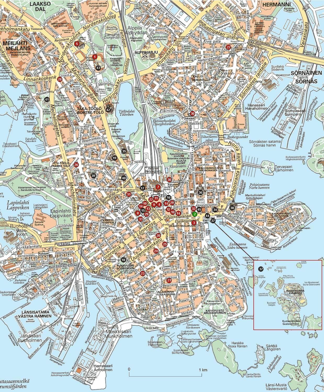 plan helsinki map