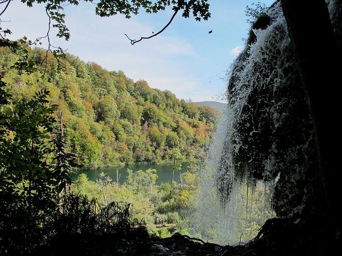 plitvice chute eau