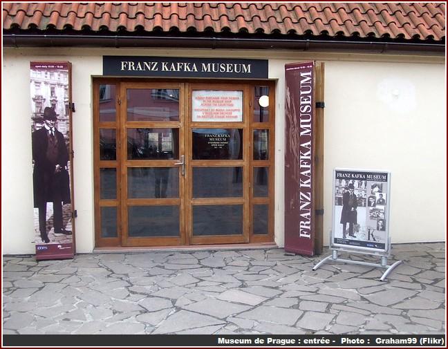 prague kafka museum entree