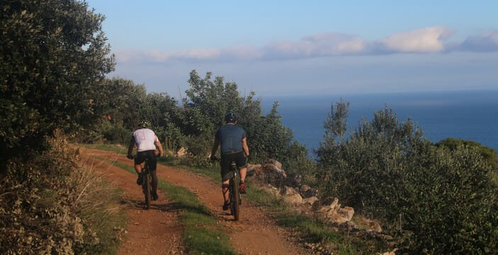 randonnée à velo en Croatie