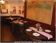 restaurant point d'interrogation belgrade tables