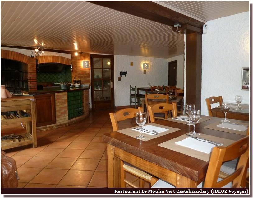 salle restaurant le moulin vert castelnaudary