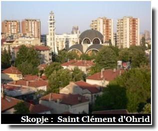 skopje eglise saint clement d'ohrid