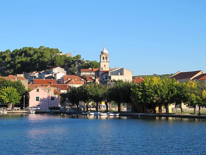 skradin croatie