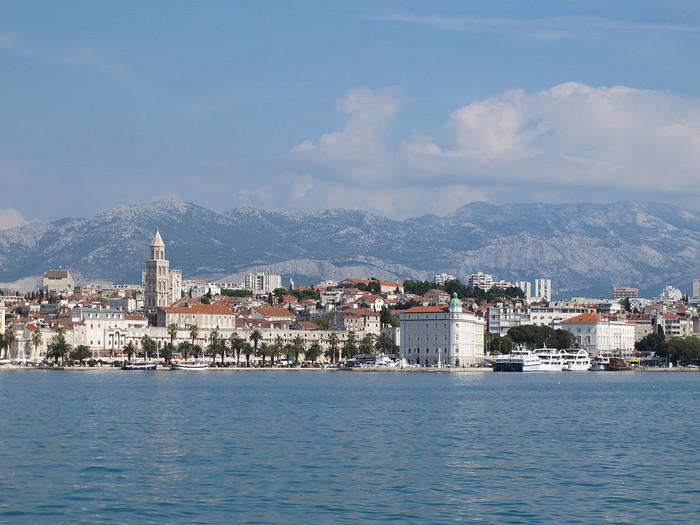 split croatie vue generale