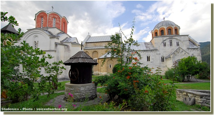Studenica Serbie orthodoxe