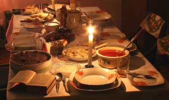 table reveillon noel en pologne