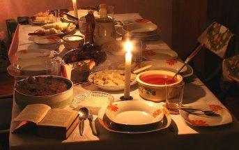 table reveillon noel en pologne