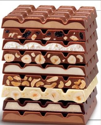 tablettes ritter sport schokolade