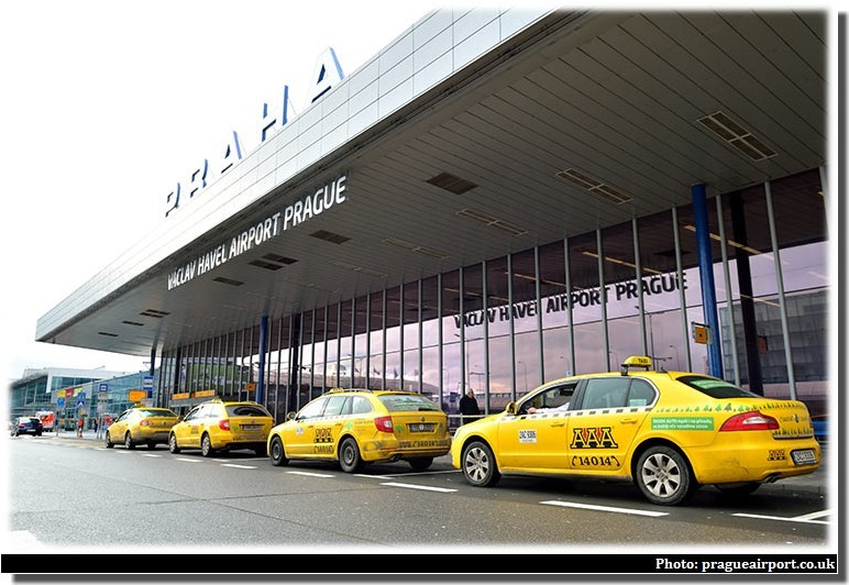 taxis prague aeroport