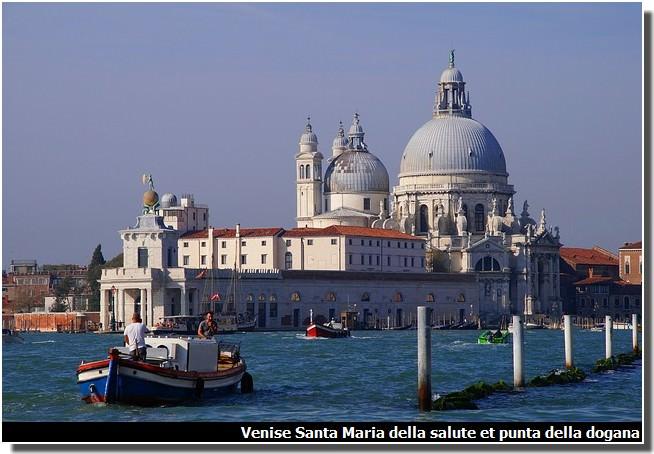 Venise santa maria della salute punta della dogana