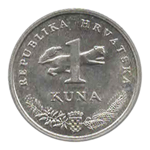 1 kuna croate monnaie croatie