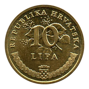 10 lipas monnaie croate