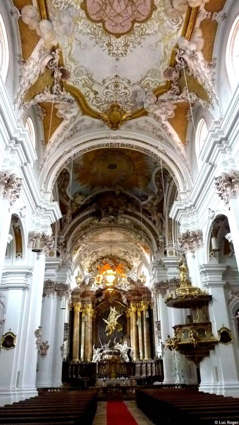 Abbaye Rohr nef vue de l'entrée