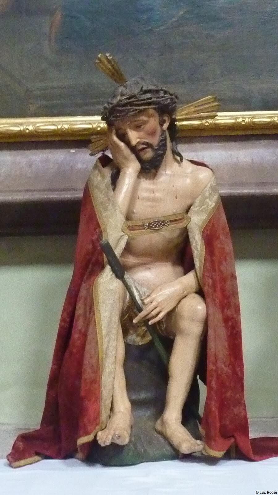 Abbaye Rohr statue du Christ
