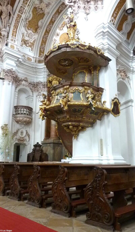 Abbaye de Rohr Chaire