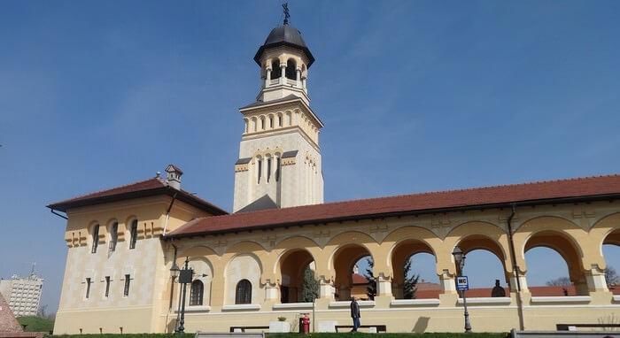 Alba Iulia en Roumanie