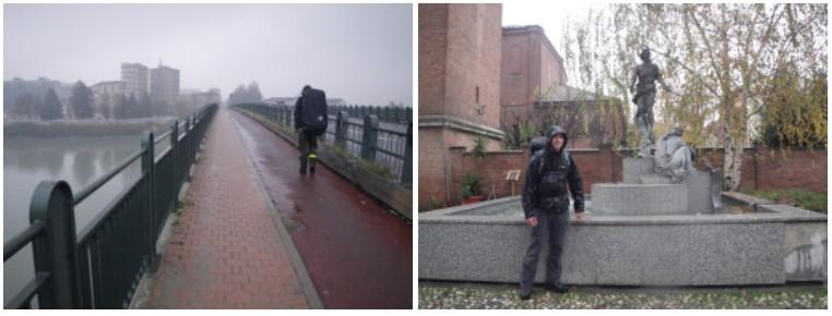 Alessandria sous la pluie