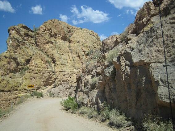 Apache Trail paysage