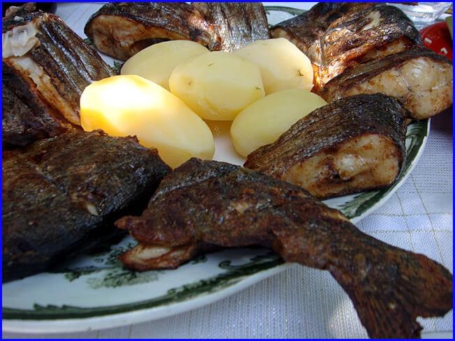 Arménie truite grillée