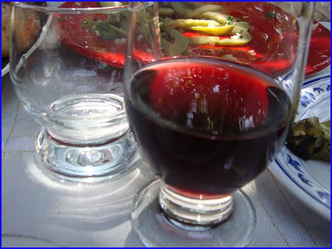 Arménie vin de garni