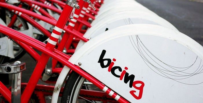 Barcelone en bici