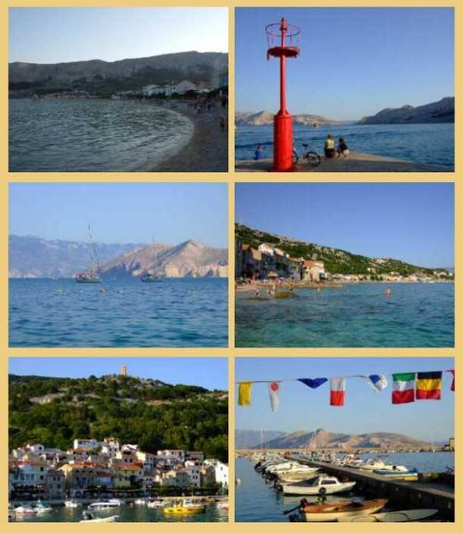 Baska sur l'ile de Krk