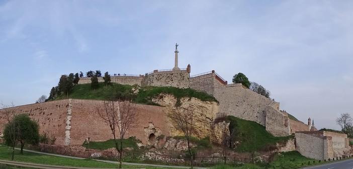 Forteresse Kalemegdan ; le berceau historique de Belgrade dans Stari Grad