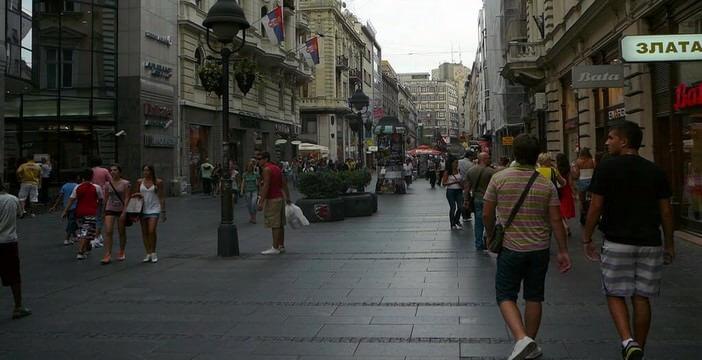 Knez Mihailo : flâner dans le centre de Belgrade