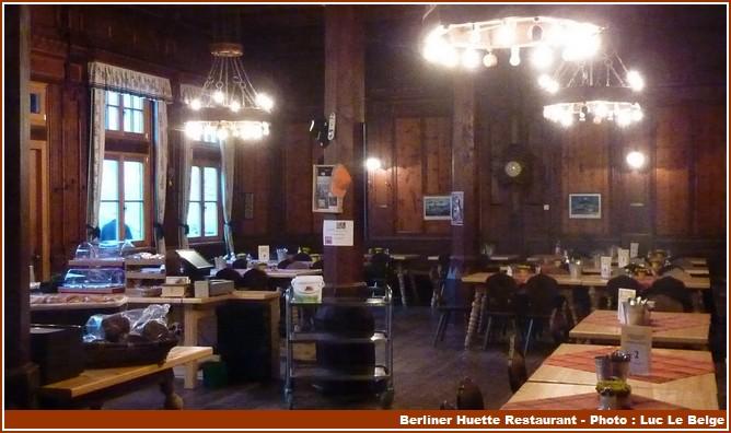 Berliner Huette restaurant
