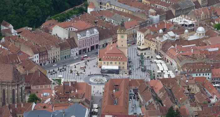 Brasov centre historique