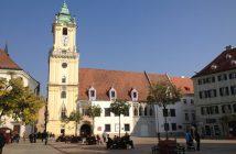 Bratislava place centrale