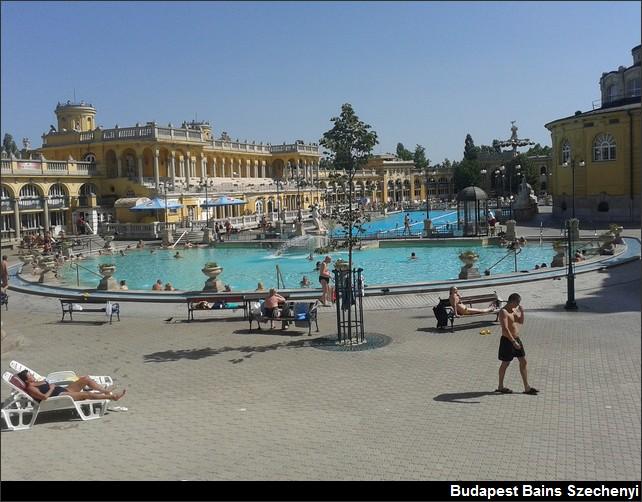 Budapest Bains Szechenyi