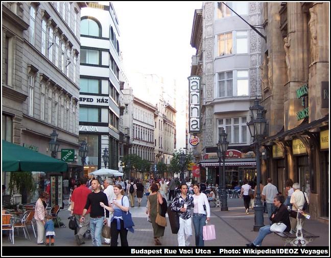 Budapest Vaci utca
