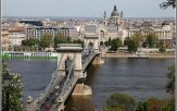 Budapest pont aux chaines et panorama