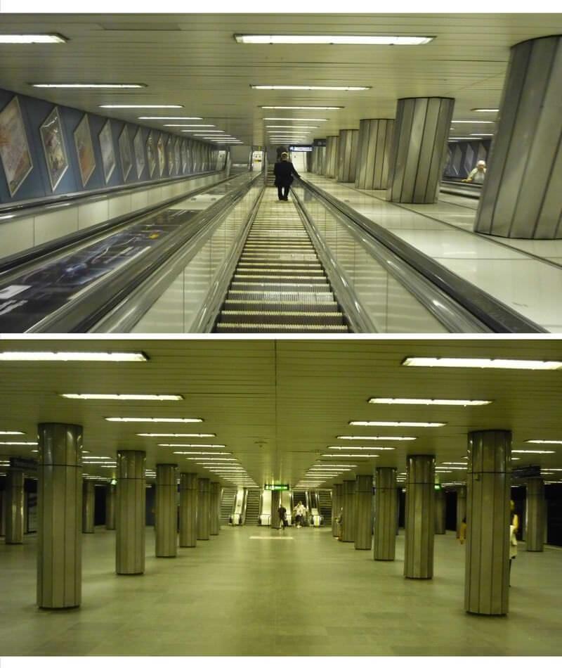 Budapest station de métro