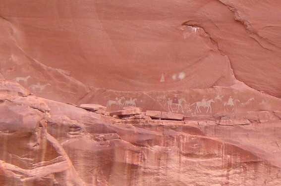 Canyon de Chelly National Monument fresques