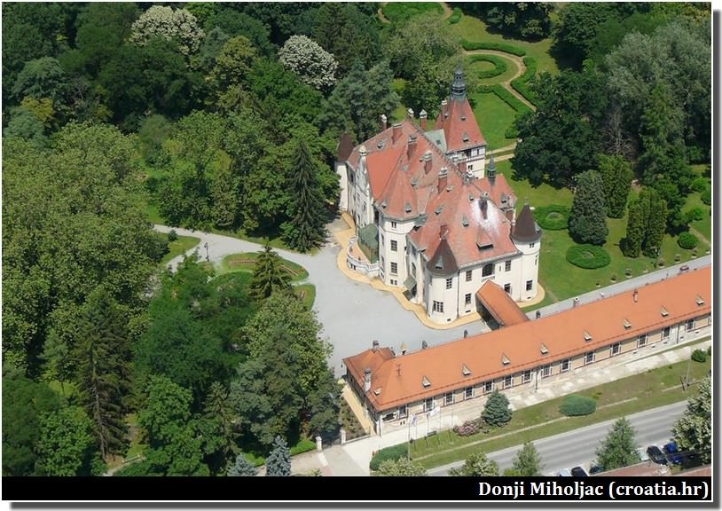 Chateau Donji Miholjac en Slavonie Croatie