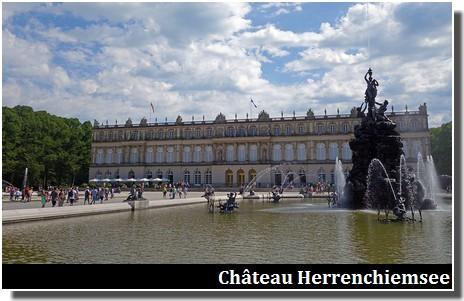Chateau Herrenchiemsee en Baviere